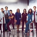 CHICAGO MED -- Season 3 -- Pictured: (l-r) Marlyne Barrett as Maggie Lockwood, Rachel DiPillo as Sarah Reese, Oliver Platt as Dr. Daniel Charles, Brian Tee as Dr. Ethan Choi, S. Epatha Merkerson as Sharon Goodwin, Torrey DeVitto as Dr. Natalie Manning, Yaya DaCaosta as April Sexton, Nick Gehlfuss as Dr. Will Halstead, Colin Donnell as Dr. Connor Rhodes -- (Photo by Nino Munoz/NBC)