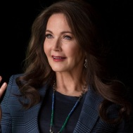 Lynda Carter - Robert Kirkman's Secret History of Comics _ Season 1, Episode 2 - Photo Credit: Bill Gray/AMC