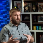 Robert Kirkman - Robert Kirkman's Secret History of Comics _ Season 1, Episode 6 - Photo Credit: Ron Jaffe/AMC