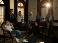 "MARVEL'S CLOAK & DAGGER - Freeform's ""Marvel's Cloak & Dagger"" stars Olivia Holt as Tandy, Aubrey Joseph as Tyrone, Gloria Reuben as Mrs. Johnson, Miles Mussenden as Mr. Johnson, Andrea Roth as Melissa, Carl Lundstedt as Liam, Emma Lahana as Detective O'Reilly, Jaime Zevallos as Father Delgado and J.D. Evermore as Detective Connors. (Freeform/Frank Ockenfels)"