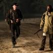 Lennie James as Morgan Jones, Garret Dillahunt as John Dorey; group - Fear the Walking Dead _ Season 4, Episode 4 - Photo Credit: Richard Foreman, Jr/AMC