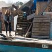 Jenna Elfman as Naomi, Alycia Debnam-Carey as Alicia Clark; group- Fear the Walking Dead _ Season 4, Episode 4 - Photo Credit: Richard Foreman, Jr/AMC