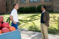 """THE GOLDBERGS: 1990-SOMETHING - This Goldbergs-inspired special event picks up where the Goldberg family leaves off at William Penn Academy in the 1990s as former teacher and now Head of School John Glascott leads a faculty of teachers with wildly different views on how to mentor students and recruits his tough-as-nails-sister Lucy to join his staff and enroll her teenage daughters Felicia and Gigi as new students. Lucy is desperate to ensure they avoid the social pitfalls of high school and finds herself torn between Glascott's nurturing and communicative approach to parenting and Coach Mellor's tough-guy belief that physical competition brings out the best in students. Even Beverly Goldberg comes to visit the school's staff despite all her kids having already graduated and can't help but meddle one last time, on """"The Goldbergs: 1990-Something,"""" WEDNESDAY, JAN. 24 (8:00-8:30 p.m. EST), on The ABC Television Network. (ABC/Ron Tom) BRYAN CALLEN, TIM MEADOWS"""