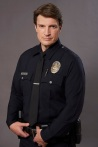 "THE ROOKIE - ABC's ""The Rookie"" stars Nathan Fillion as John Nolan. (ABC/Kevin Foley)"