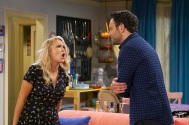 "YOUNG & HUNGRY - ÒYoung & Downton Gabi"" - Gabi and Josh delight in their new status as an official couple, but Elliot and Yolanda are worried about how their work lives will change now that Gabi is the Òlady of the house."" Trying to make things less awkward, Gabi asks Josh to spend more time at her apartment, but Josh is horrified when he learns how messy Gabi is. This episode of ÒYoung & Hungry"" airs Wednesday, June 20 (8:00 - 8:30 p.m. EDT) on Freeform. (Freeform/Ron Tom) EMILY OSMENT, JONATHAN SADOWSKI"