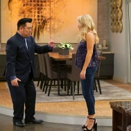 "YOUNG & HUNGRY - ÒYoung & Downton Gabi"" - Gabi and Josh delight in their new status as an official couple, but Elliot and Yolanda are worried about how their work lives will change now that Gabi is the Òlady of the house."" Trying to make things less awkward, Gabi asks Josh to spend more time at her apartment, but Josh is horrified when he learns how messy Gabi is. This episode of ÒYoung & Hungry"" airs Wednesday, June 20 (8:00 - 8:30 p.m. EDT) on Freeform. (Freeform/Ron Tom) REX LEE, EMILY OSMENT"