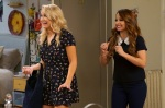 """YOUNG & HUNGRY - ÒYoung & Downton Gabi"""" - Gabi and Josh delight in their new status as an official couple, but Elliot and Yolanda are worried about how their work lives will change now that Gabi is the Òlady of the house."""" Trying to make things less awkward, Gabi asks Josh to spend more time at her apartment, but Josh is horrified when he learns how messy Gabi is. This episode of ÒYoung & Hungry"""" airs Wednesday, June 20 (8:00 - 8:30 p.m. EDT) on Freeform. (Freeform/Ron Tom) EMILY OSMENT, AIMEE CARRERO"""