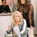 "YOUNG & HUNGRY - ""Young & Third WheelÓ - Josh decides to set Sofia up with someone, in hopes sheÕll be less of a third wheel in his and GabiÕs relationship.Ê But when Sofia hits it off with JoshÕs dentist, Gabi isnÕt so sure heÕs the right one for her friend.Ê Meanwhile, Elliot turns to Yolanda for help in reigniting the spark between him and Alan.Ê Guest starring Bryan Safi, Lainie Kazan, and series star Aimee CarreroÕs real life husband Tim Rock. This episode of ""Young & HungryÓ airs Wednesday, June 20 (8:30 - 9:00 p.m. EDT) on Freeform. (Freeform/Tony Rivetti) EMILY OSMENT, LESLIE-ANNE HUFF"
