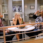 "YOUNG & HUNGRY - ""Young & Third WheelÓ - Josh decides to set Sofia up with someone, in hopes sheÕll be less of a third wheel in his and GabiÕs relationship.Ê But when Sofia hits it off with JoshÕs dentist, Gabi isnÕt so sure heÕs the right one for her friend.Ê Meanwhile, Elliot turns to Yolanda for help in reigniting the spark between him and Alan.Ê Guest starring Bryan Safi, Lainie Kazan, and series star Aimee CarreroÕs real life husband Tim Rock. This episode of ""Young & HungryÓ airs Wednesday, June 20 (8:30 - 9:00 p.m. EDT) on Freeform. (Freeform/Tony Rivetti) JONATHAN SADOWSKI, EMILY OSMENT, KYM WHITLEY"