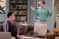 """YOUNG & HUNGRY - """"Young & Third WheelÓ - Josh decides to set Sofia up with someone, in hopes sheÕll be less of a third wheel in his and GabiÕs relationship.Ê But when Sofia hits it off with JoshÕs dentist, Gabi isnÕt so sure heÕs the right one for her friend.Ê Meanwhile, Elliot turns to Yolanda for help in reigniting the spark between him and Alan.Ê Guest starring Bryan Safi, Lainie Kazan, and series star Aimee CarreroÕs real life husband Tim Rock. This episode of """"Young & HungryÓ airs Wednesday, June 20 (8:30 - 9:00 p.m. EDT) on Freeform. (Freeform/Tony Rivetti) REX LEE, BRYAN SAFI"""