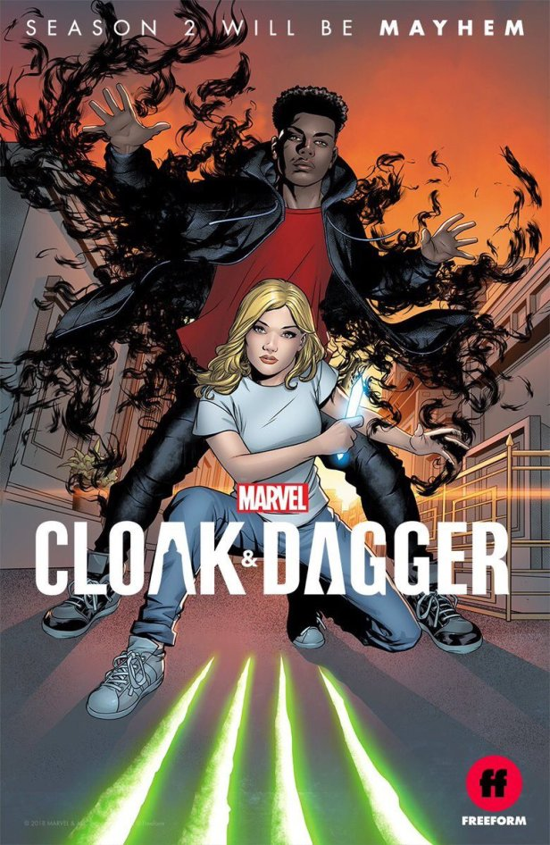 Cloak and Dagger_SDCC 2018