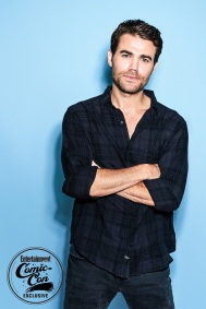 DAY 1 - SDCC - San Diego Comic-Con Paul Wesley photographed in the Entertainment Weekly portrait studio at the 2018 San Diego Comic-Con on July 20, 2018. Photographed by: Ben Watts Pictured: Paul Wesley Film/Show: Tell Me A Story Studio/Network: CBS