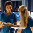 """CHICAGO MED -- """"Backed Against The Wall"""" Episode 404 -- Pictured: Yaya DaCosta as April Sexton -- (Photo by: Elizabeth Sisson/NBC)"""